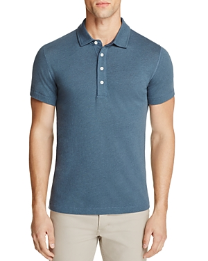 Billy Reid Grant Slim Fit Polo Shirt