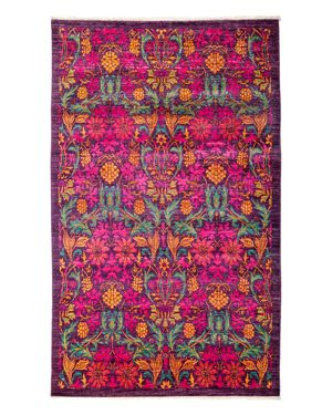 Solo Rugs Arts and Crafts Area Rug, 4'10 x 8'1