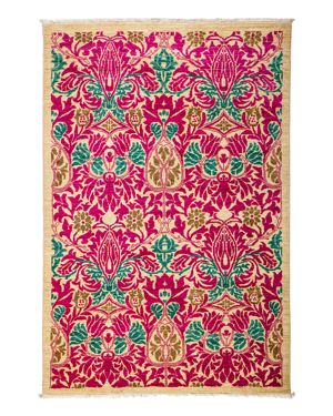 Solo Rugs Arts and Crafts Area Rug, 4'1 x 6'