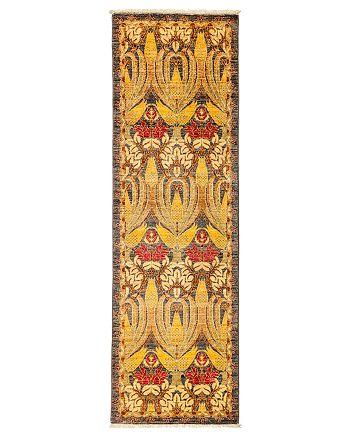 """Solo Rugs - Arts and Crafts Runner Rug, 2'5"""" x 8'"""