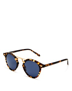Krewe - Women's St. Louis 24K Polarized Sunglasses, 46mm