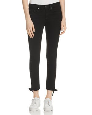 rag & bone/Jean Stevie Capri Jean in Black