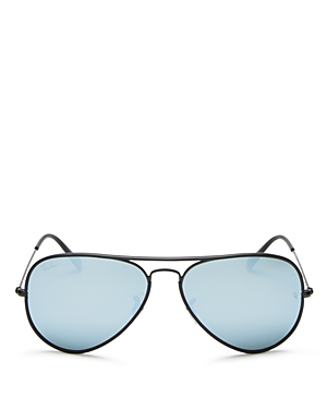 Ray-Ban Mirrored Aviator Sunglasses, 58mm - 100% Exclusive