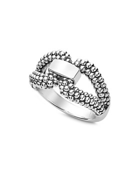 LAGOS - Sterling Silver Derby Caviar Ring