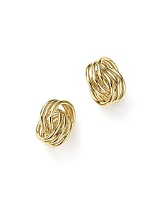 Bloomingdale's - 14K Yellow Gold Coil Knot Earrings - 100% Exclusive