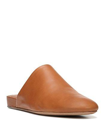 Vince Oren Leather Mules Bloomingdale S