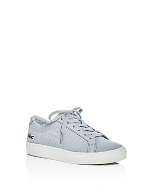 Lacoste Boys Pique Knit Lace Up Sneakers  Little Kid Big Kid