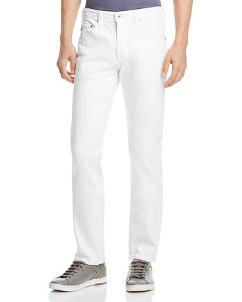 AG - Matchbox Slim Fit Jeans in White