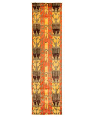 Solo Rugs Ikat Runner Rug, 2'8 x 10'3