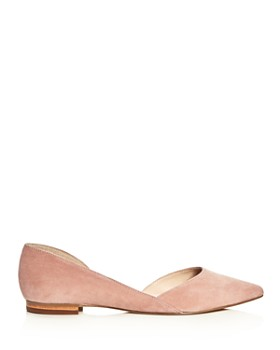 Marc Fisher LTD. - Women's Sunny Suede Pointed Toe d'Orsay Flats