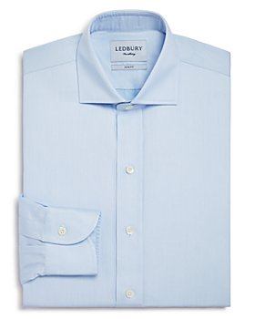 Ledbury - Fine Twill Slim Fit Dress Shirt
