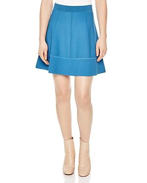 Sandro Aiata Textured Skirt
