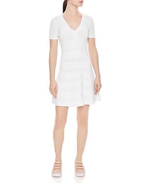 Sandro Milau Textured Dress