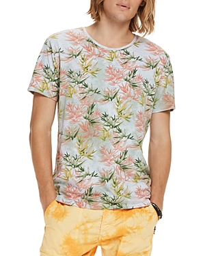 Scotch & Soda Floral Graphic Tee
