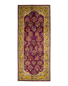 """Bloomingdale's - Eclectic Collection Oriental Area Rug, 4'3"""" x 9'9"""""""