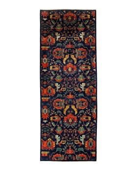 """Solo Rugs - Eclectic Collection Oriental Rug, 5'2"""" x 13'10"""""""