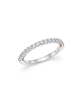 Bloomingdale's - Diamond Ring in 14K White and Rose Gold, .35 ct. t.w. - 100% Exclusive