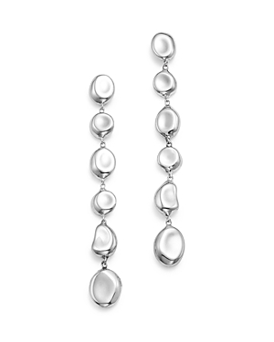Ippolita Sterling Silver Glamazon Linear Pebble Earrings