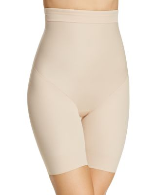 TC FINE INTIMATES Firm Control Hi-Waist Thigh Slimmer in Cupid Nude