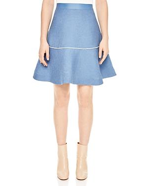 Sandro Bijou Flared Skirt