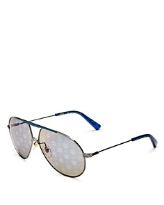 MCM - Women's Mirrored Aviator Sunglasses, 62mm