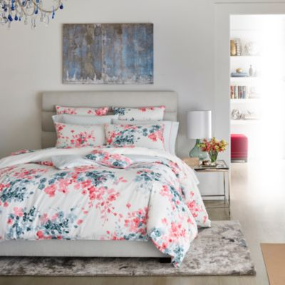 Poesies Duvet Cover, Queen