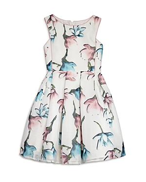 Pippa  Julie Girls Floral Print Dress  Big Kid