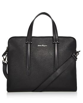af76833c3d4e Salvatore Ferragamo - Firenze Tumbled Calfskin Slim Briefcase ...