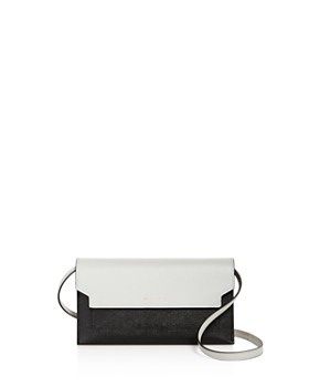 Marni - Color-Block Leather Wallet Crossbody