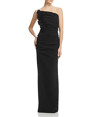 Talulah One-Shoulder Ruched Gown