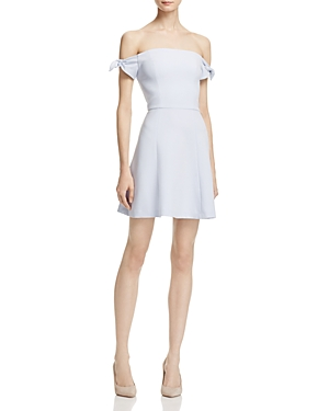 French Connection Whisper Light Off-the-Shoulder Dress - 100% Exclusive