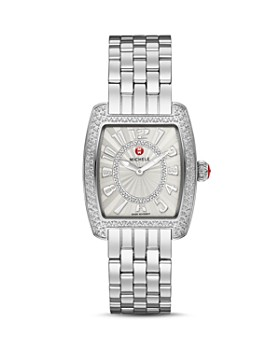 MICHELE - Urban Mini Diamond Dial Watch Head, 29 x 30mm