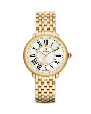 Serein 16 Diamond Dial Watch Head, 36 x 34mm