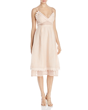 Talulah Voile and Lace Midi Dress