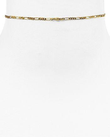 """Rebecca Minkoff - Boyfriend Chain Choker Necklace, 11.75"""""""