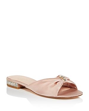 kate spade new york Fenton Embellished Slide Sandals