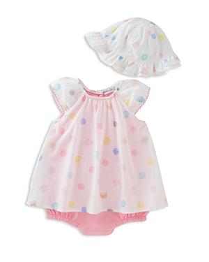 Absorba Girls Dress Bodysuit  Hat Set  Baby