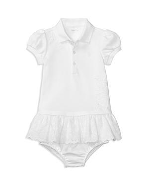 Ralph Lauren Childrenswear Girls Eyelet Ruffle Dress  Bloomers  Baby