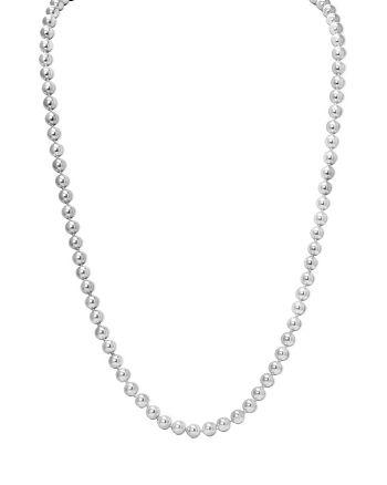 "Ralph Lauren - Imitation Pearl Necklace, 36"""