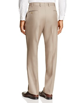Luigi Bianchi - Solid Classic Fit Dress Pants
