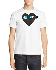 Comme Des Garcons PLAY - Black Heart Blue-Eye Tee