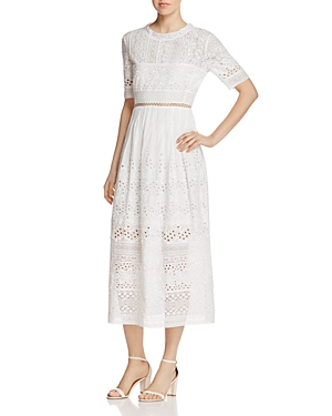 French Connection Hesse Broderie Dress
