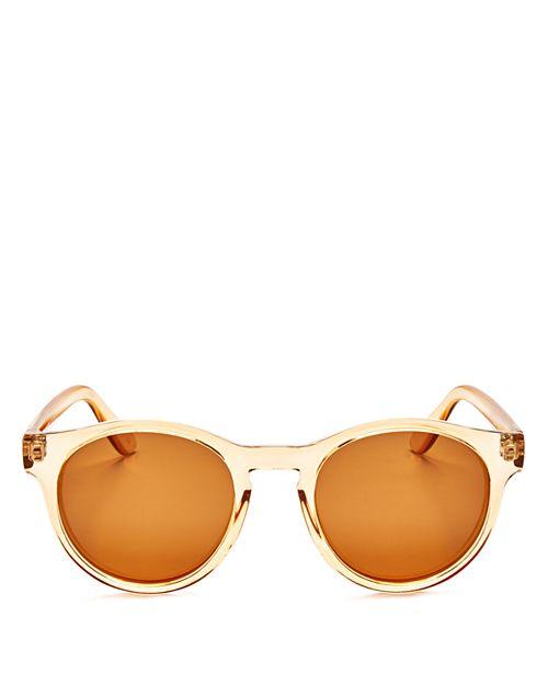 Le Specs - Women's Hey Macarena Polarized Round Sunglasses, 47mm