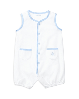 Ralph Lauren Childrenswear Boys' Knit Shortall - Baby