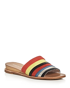 Kenneth Cole Janie Demi Wedge Slide Sandals