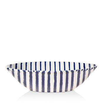 VIETRI - Net & Stripe Stripe Pasta Bowl