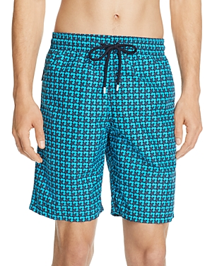 Vilebrequin Okua Baby Turtle-Print Swim Trunks