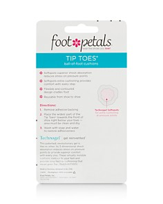 Foot Petals - Women's Technogel® with Softspots Tip Toes Cushions