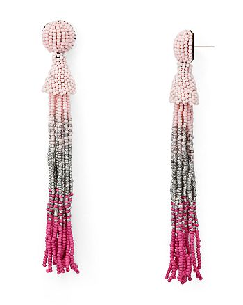 AQUA - Marylse Ombré Tassel Earrings - 100% Exclusive