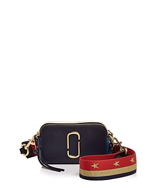 Marc Jacobs Snapshot Star Strap Color Block Saffiano Leather Camera Bag